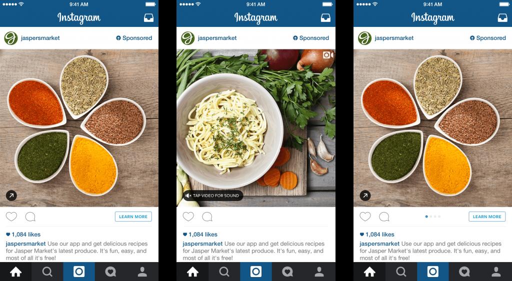 Кулинария в Инстаграм
