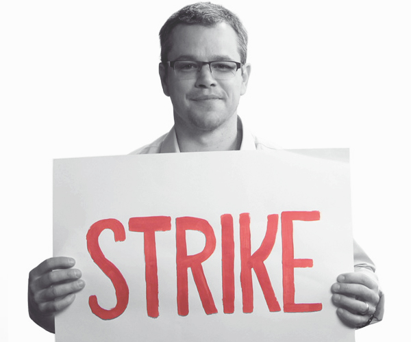 mattdamon-strike