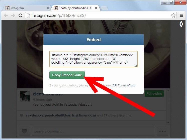 Как под сделать ссылку в инстаграме
