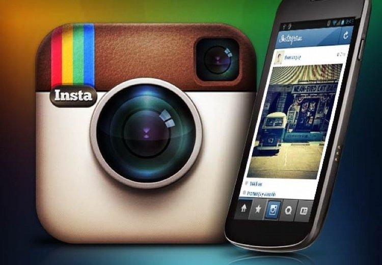 добавить фото в Instagram1