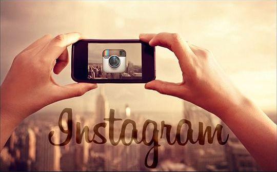 добавить фото в Instagram2