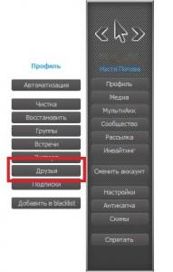 удалить всех друзей ВКонтакте2