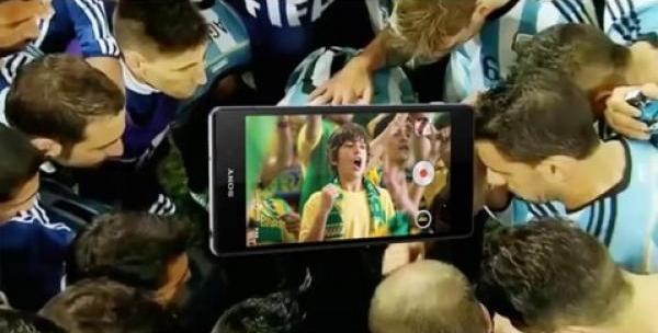 "Кампания Sony Xperia™ ""Football Cancellation"""