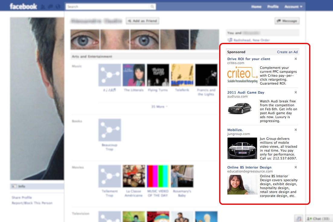 fb ad - Стратегии получения трафика через Facebook или лучшая таргетинговая реклама
