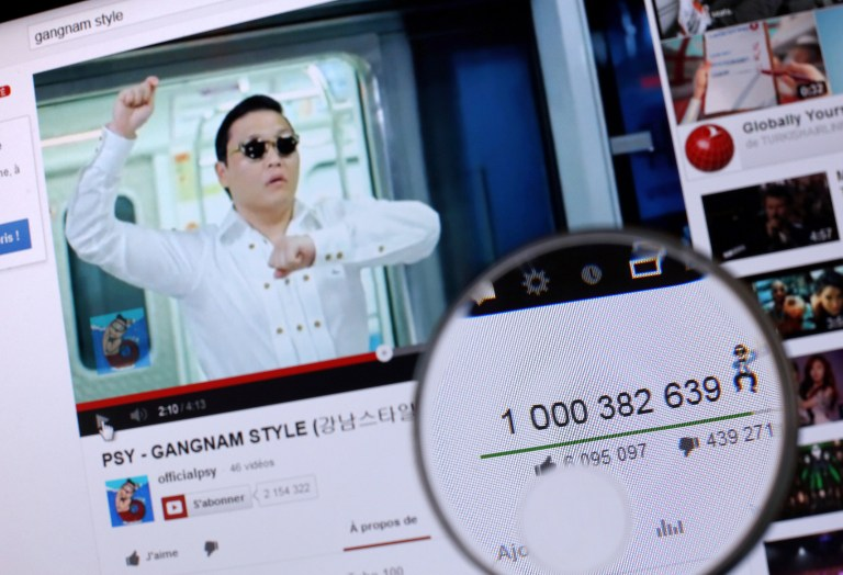 YOUTUBE-PSY-Views