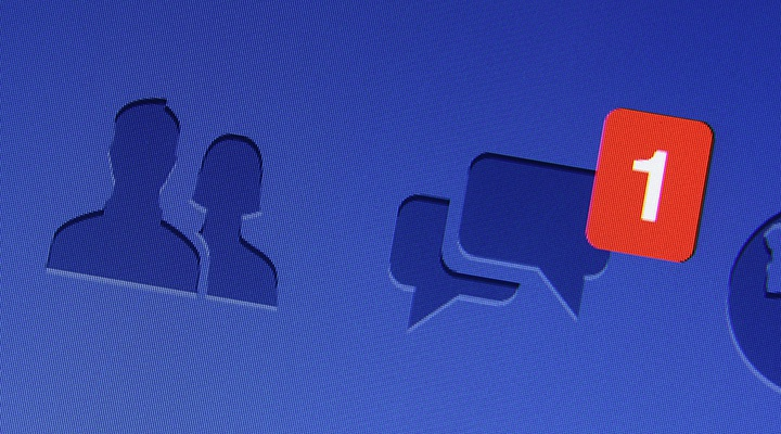 Эволюция лототипа Facebook