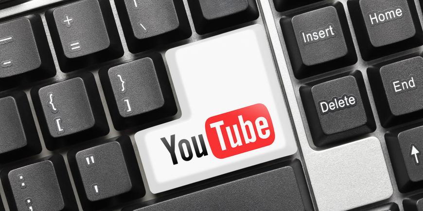 YouTube (key with logotype)