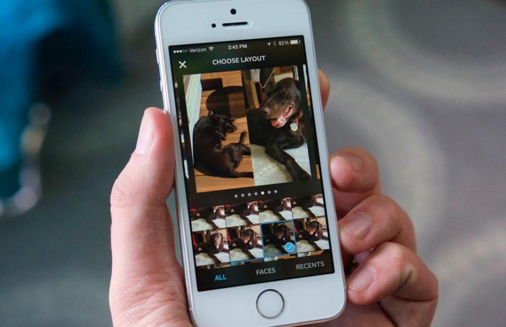 Как в Инстаграм сделать коллаж из фотографий?
