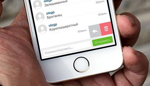 1426766314 kak udalit foto v instagrame - Как отвечать на комментарии в Instagram?