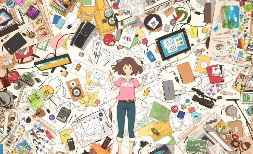 anime rooms10 - Список ненужных вещей дома, на которых можно заработать