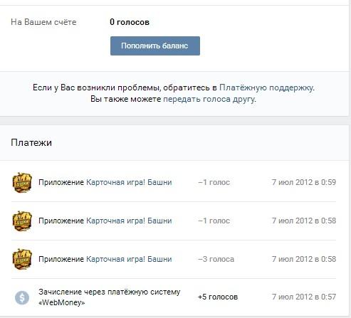 perevodi - Как получить много голосов Вконтакте