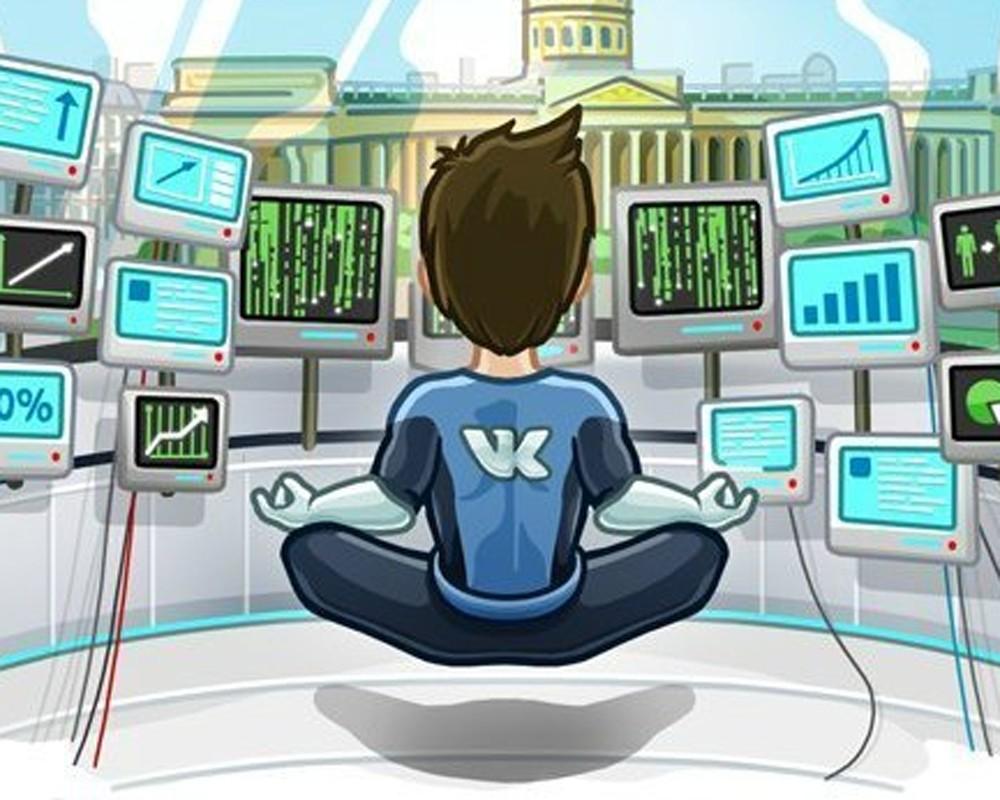 Администратор паблика ВКонтакте