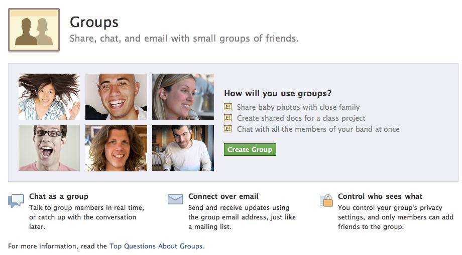 Picture 3 - Какие бывают группы в фейсбук и как ими управлять