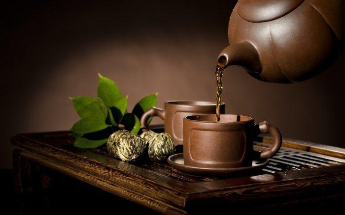 пить чай