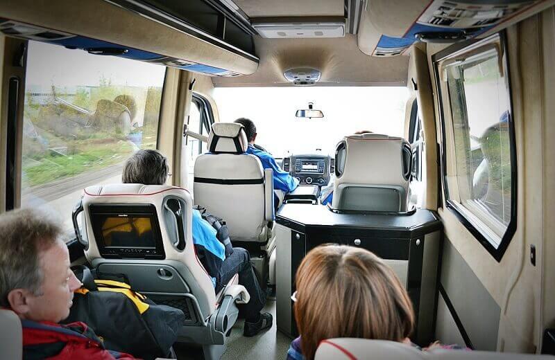 Нюансы на перевозках пассажиров микроавтобусами