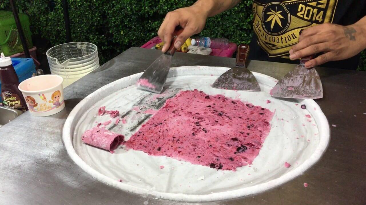 Тайское мороженое: оборудование