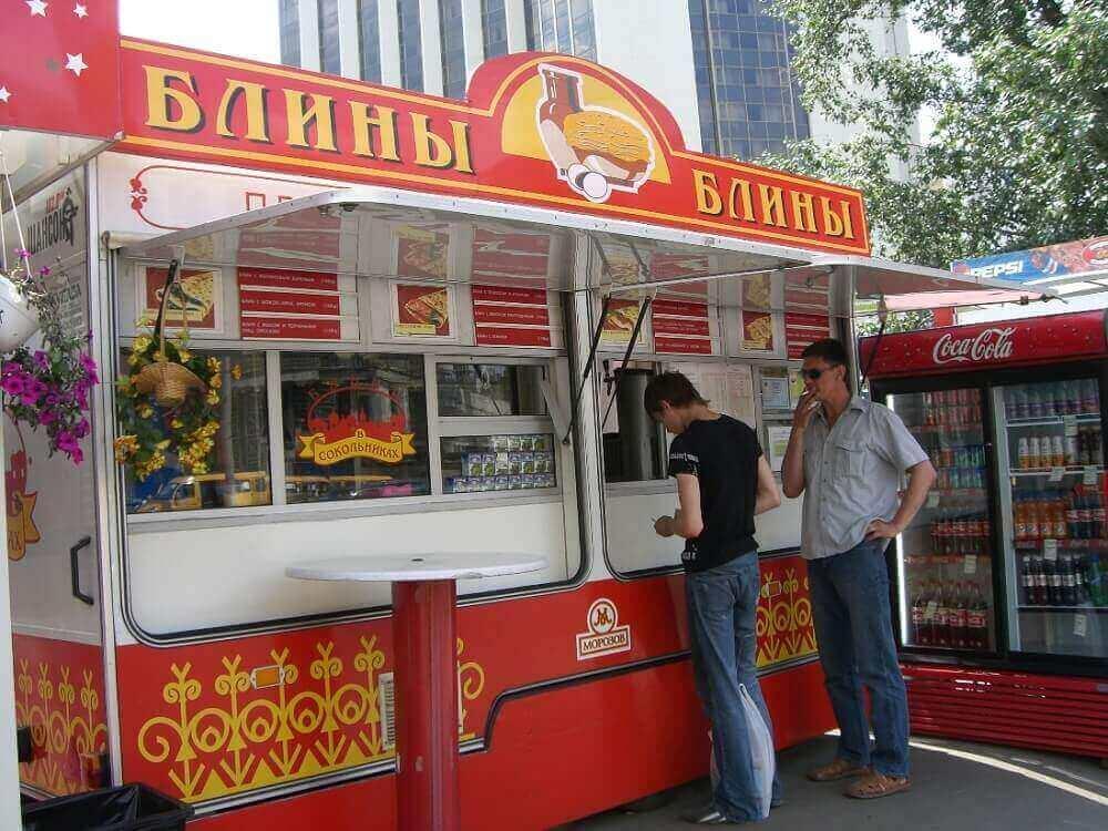 blinnaya na kolesah - Как зарабатывать от 300 000 рублей в месяц на кафе блинной