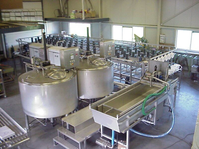 mini zavod po proizvodstvu syra - Производство сыра