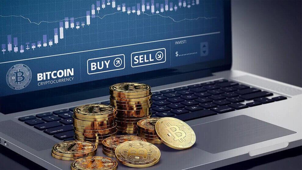 monety bitkoin na noutbuke - Как поменять биткоин и другие криптовалюты: обзор 6 способов