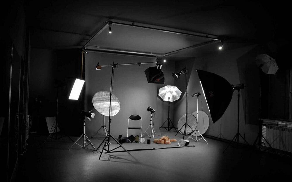 oborudovanie i oformlenie fotostudii - Как открыть фотостудию и заработать: обзор 2 вариантов бизнеса