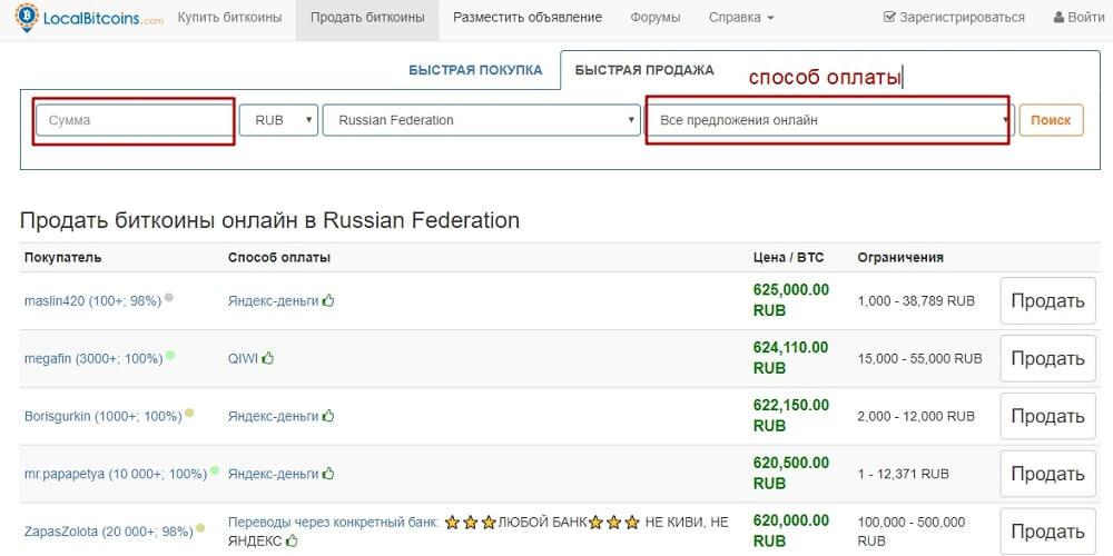 piringovaya ploshchadka dlya obmena LocalBitcoins - Как поменять биткоин и другие криптовалюты: обзор 6 способов