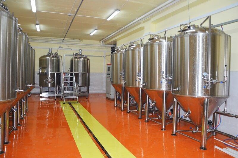Помещение для пивоварни