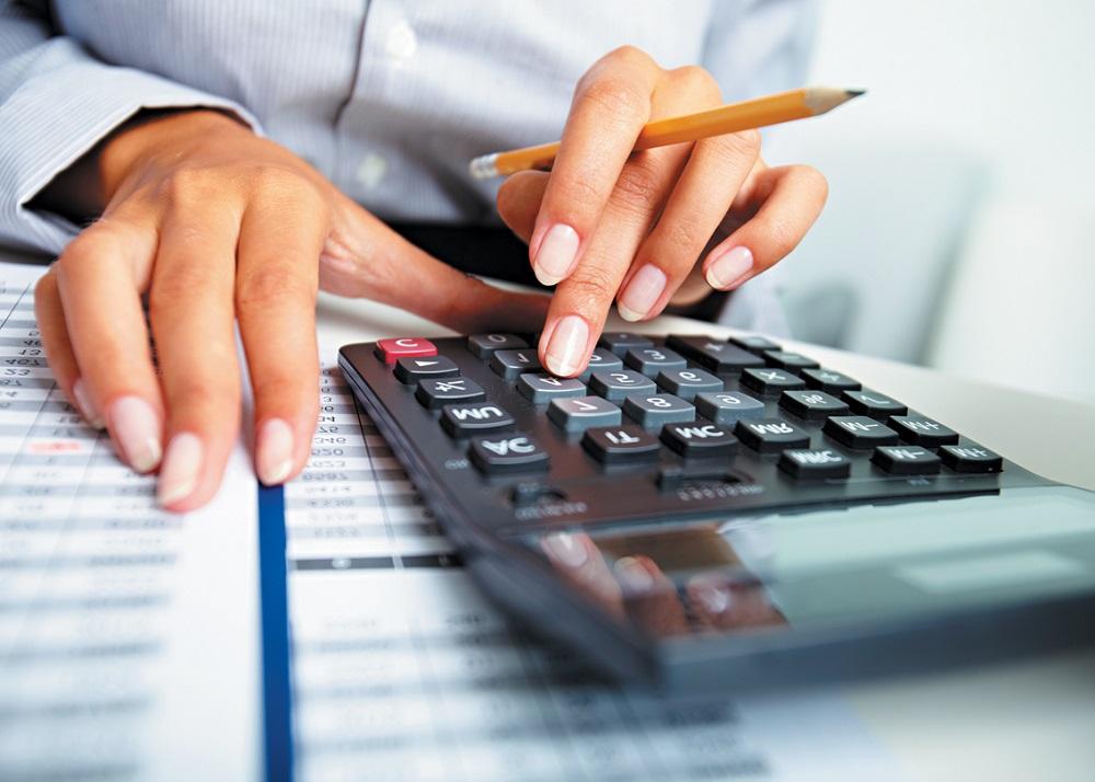 Финансовый план-подсчет на калькуляторе
