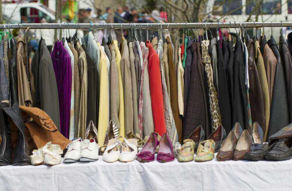 Одежда и обувь секонд хенд