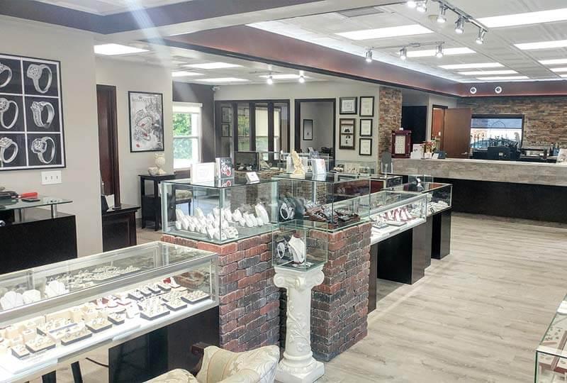 Выбор места расположения для ювелирного магазина